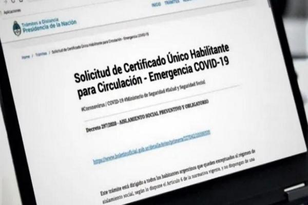 Certificado Único Habilitante para Circulación