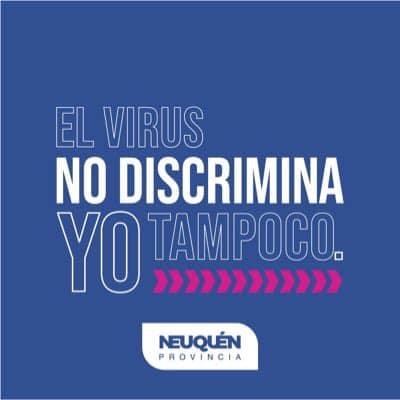 El virus no discrimina, yo tampoco
