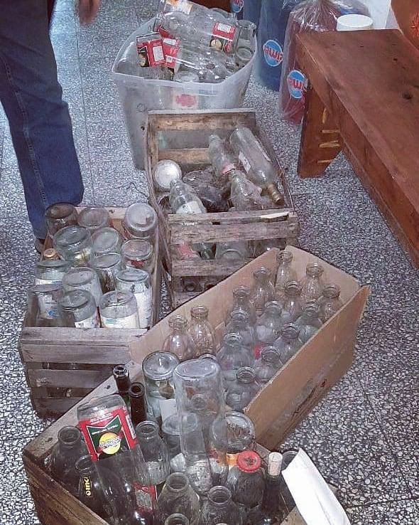 Recolección de residuos reutilizables