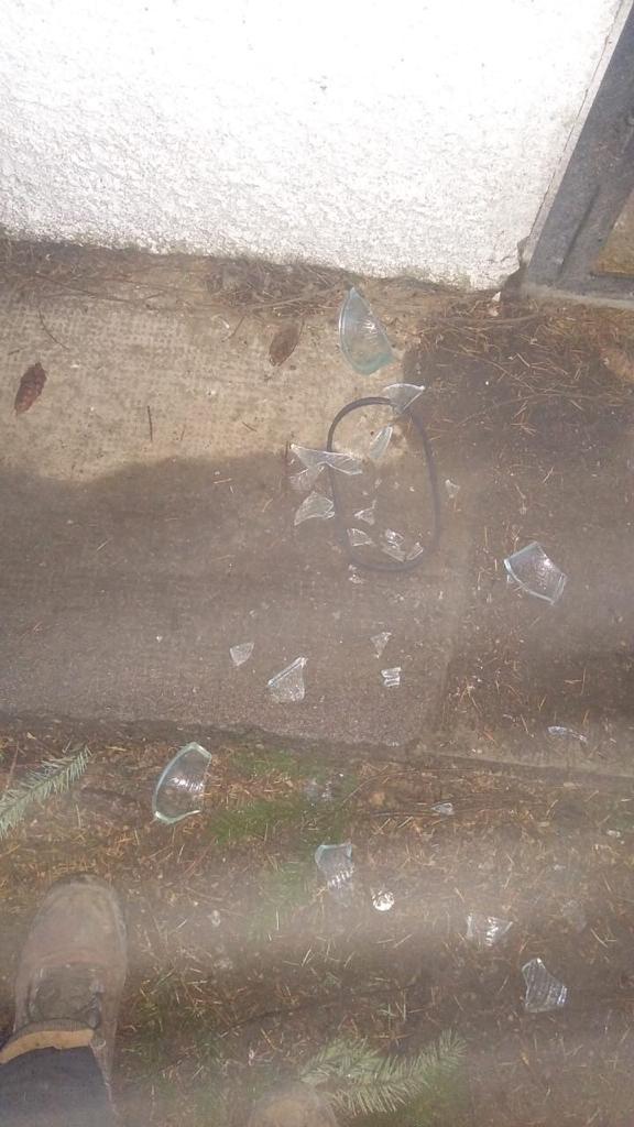 Vandalismo en el cementerio 4